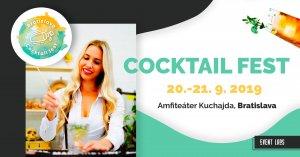 Cocktail fest Bratislava 2019